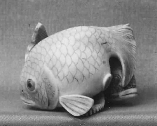 Netsuke of Two Fish  Date: 19th century