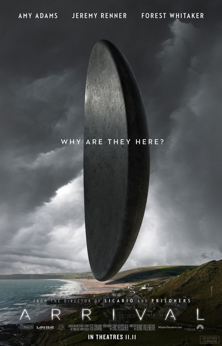 Arrival Is A 2016 American Science Fiction Drama Film Directed By Denis Villeneuve And Written Eric Heisserer Based On The 1998 Short Story Of
