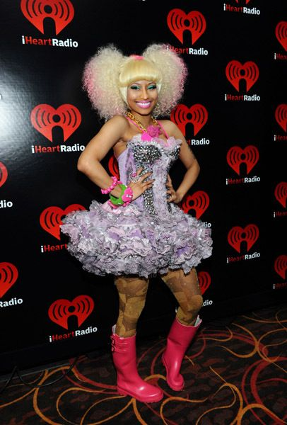 Check out Craziest Nicki Minaj Outfits! #6 is good lol
