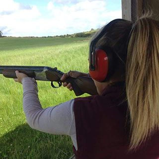 This is an advance Clay Pigeon Shooting package, comprising of 50 clay guns and ammunition supplied.