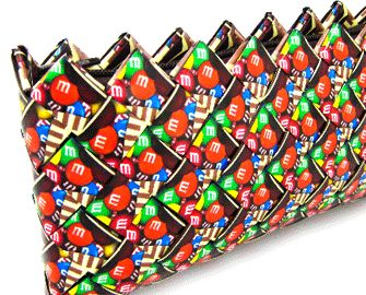 How To Make a Candy Wrapper Purse.