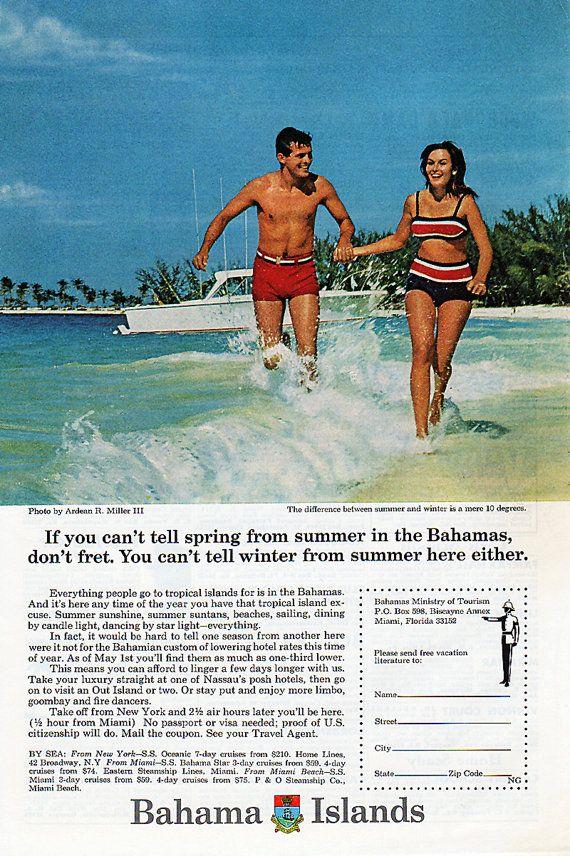 1967 Bahamas Tourism Ad