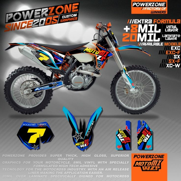87.35$  Buy here - http://aliv5p.worldwells.pw/go.php?t=32687333202 -  Customized Team Graphics Backgrounds Decals 3M Stickers WZP Kits For KTM SX SXF EXC 125 250 350 450 530 Free Shipping