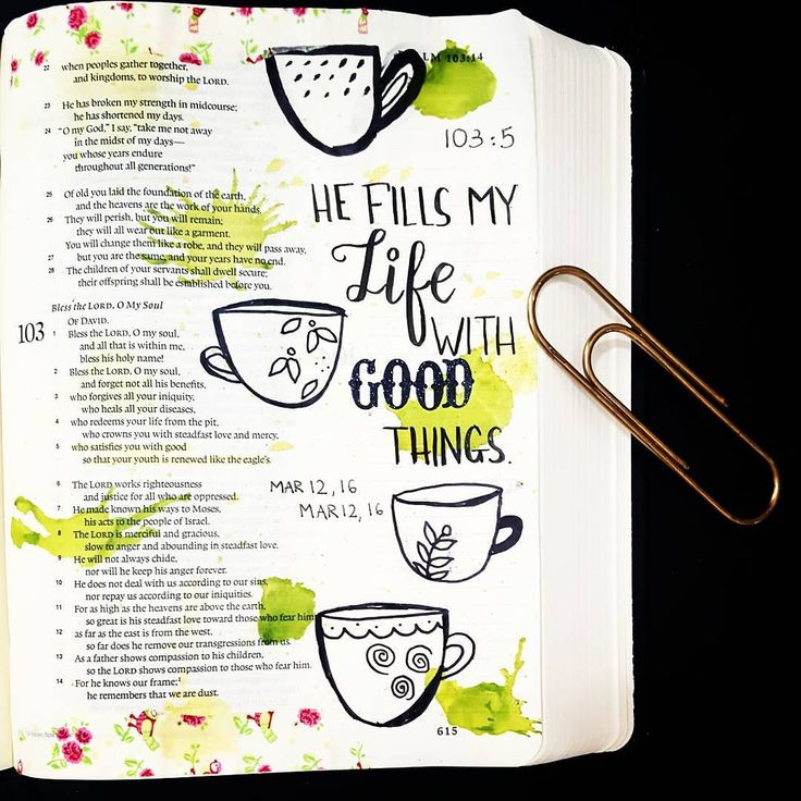 Psalm 103:5 He fill my life with good things! I'm going with a messy look for…
