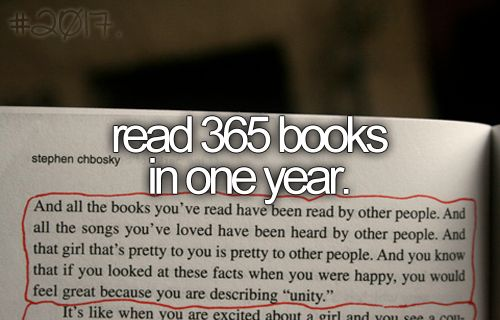 impossible. i read one a year.