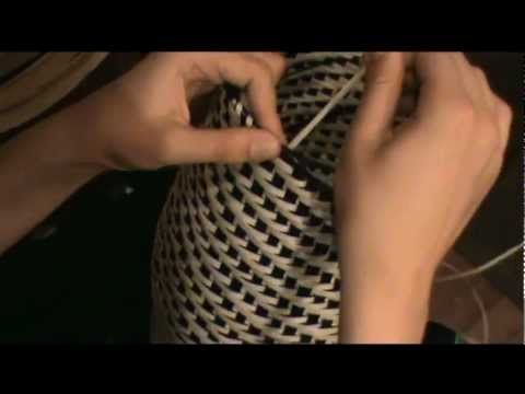 ▶ Black Ash Baskets - YouTube (essenhouten mand)