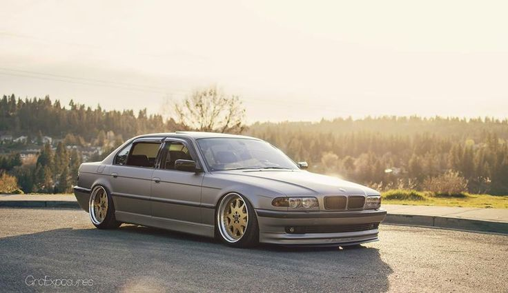 bmw e38 7 series grey slammed bmw ultimate driving machine pinterest grey slammed and bmw. Black Bedroom Furniture Sets. Home Design Ideas