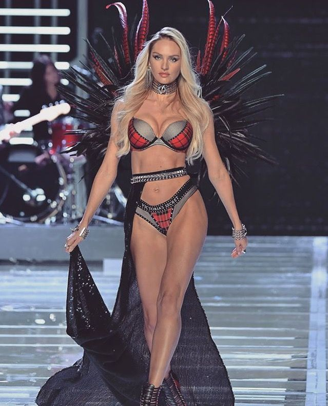 Victoria S Secret Fashion Show  Punk Angels Candice Swanepoel