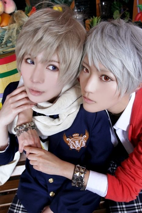 Gakuen Academy Prussia And Russia Cosplay