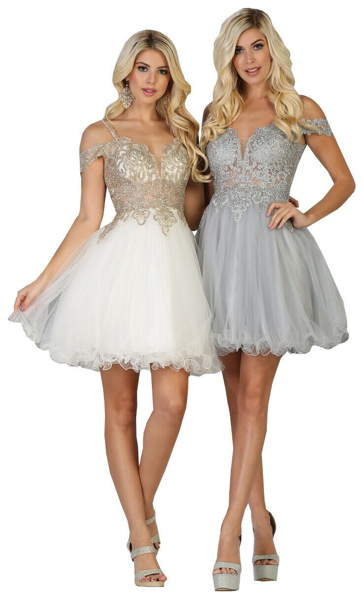NEW GRADUATION SHORT DRESS SEMI FORMAL DANCE PARTY HOMECOMING CUTE PROM COCKTAIL