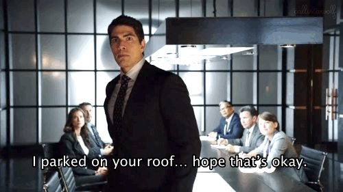"Can't wait to see more of you on 'Legends of Tomorrow!' | Community Post: 13 Times Ray Palmer From ""Arrow"" Was Too Precious For This World"