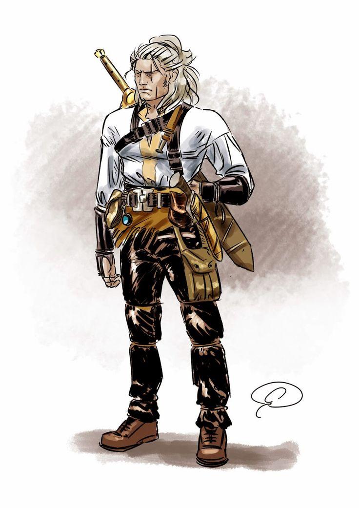 Sketch Dragonero reinterpretato