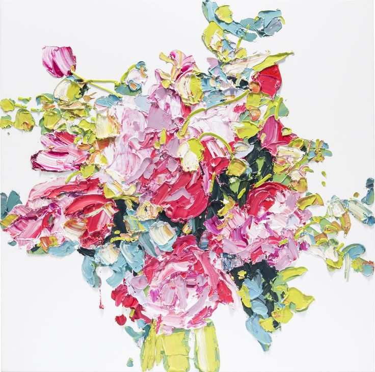 Alesandro Ljubicic   Bosnia, Australia  b. 1956 Cut Peonies 2015 watercolour on paper 76 x 56cm Private Collection  Courtesy Michael Reid Gallery Sydney, Berlin