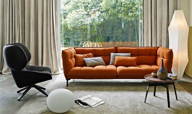 The Most Impressive Modern Sofas By Patricia Urquiola | Contemporary Interior Design. Living Room Inspiration. #modernsofas #patriciaurquiola #livingroomideas Read more: http://modernsofas.eu/2016/10/14/impressive-modern-sofas-patricia-urquiola/
