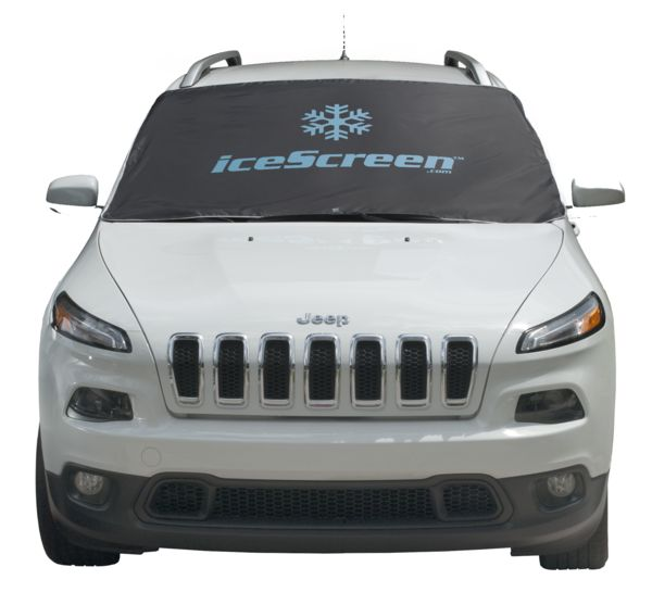iceScreen magnetic windshield cover for snow and ice - large