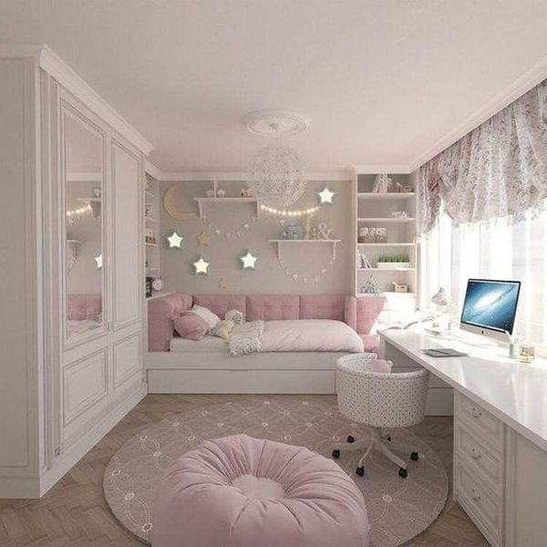 Girls Room Decoration Ideas You'll Love at the First Sight  Sublime Girls Room Decoration Ideas You'll Love at the First Sight! mybabydoo.com/… Probably girls room decoration ideas are the things that can draw a smile on your face. After all, who can resist the pink touch and flamingo corner? The post Girls Room Decoration Ideas You'll Love at the First Sight appeared first on Woman Casual.