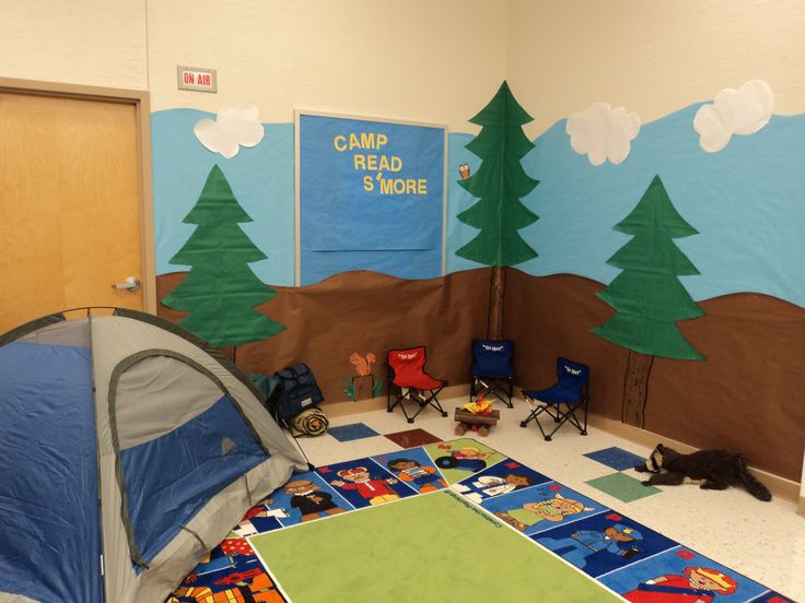 Camping Classroom Decorations ~ Best images about camping theme on pinterest reading