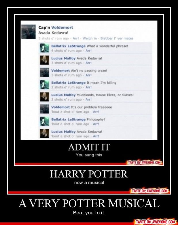 everything's better harry potter style