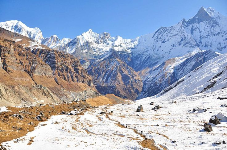 Anapurna Base Camp.