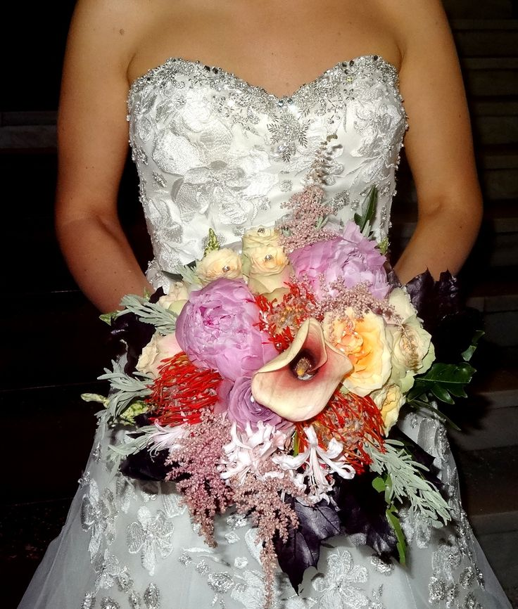 ...a glorious wedding bouquet! by NERINA FLOWERS