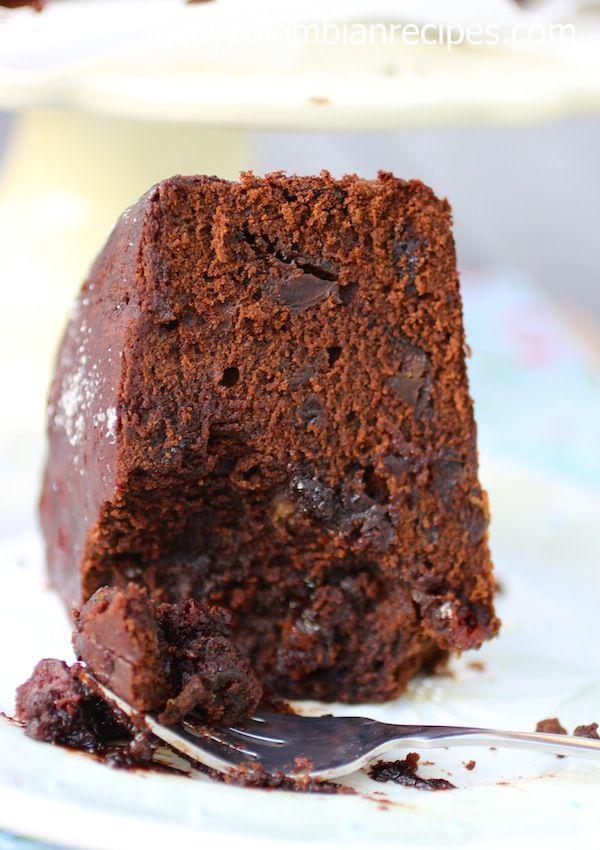 Torta Negra Colombiana (Colombian Black Cake)