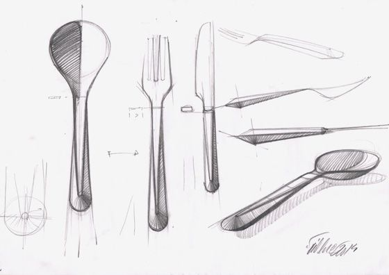 'Cutlery No. 192' by Thomas Feichtner for Jarosinski & Vaugoin