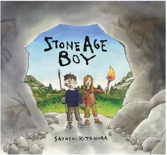 Planning and Resources for Y3/4 Literacy unit on 'Stone Age Boy'
