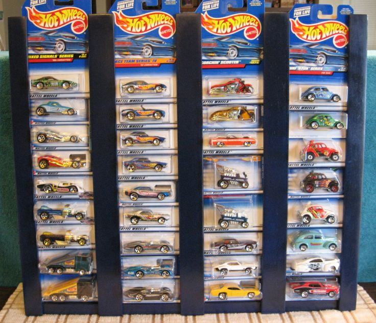 Hot Wheels Display-links to more carded displays