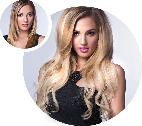 Clip-in Hair Extensions by Hair Kandy