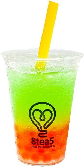 Green apple Bubble Tea Menu 8tea5 @sylviadankwa