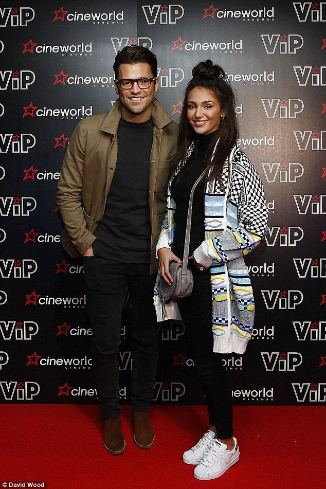 Michelle Keegan and Mark Wright at Cineworld Sheffield before she hits South Africa | Daily Mail Online