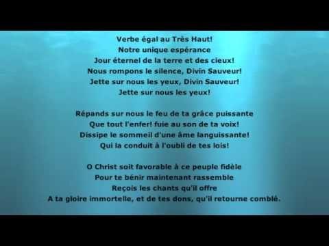 Le cantique de Jean Racine