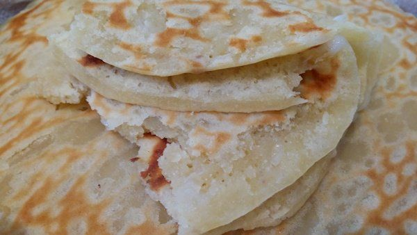How to make the best manha titiyas ever! This young coconut tortilla recipe is just like you remember on Guam.