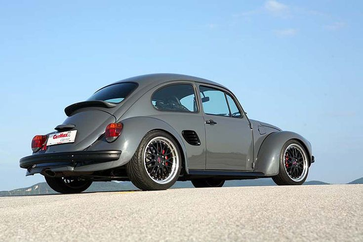1973 VW Bug /   Porsche Boxster S chassis & motor- I like it!