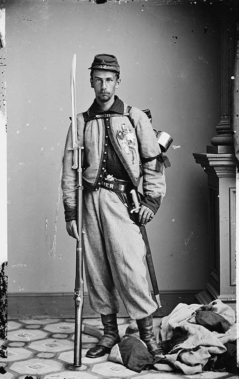 Private Francis Brownell - Private Brownell is the soldier that killed James Jackson (the proprietor of the Marshall House) after Jackson killed Colonel Elmer Ellsworth for pulling down the large Confederate flag at the Marshall House. Original photographs from the Civil War