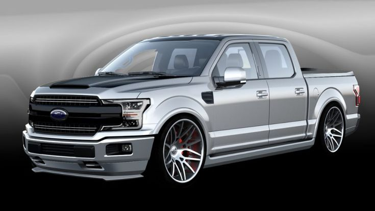 Lightning Fast Meets High Performance This custom 2018 F-150 recalls the sport-truck mania of the 1990s with continued emphasis on outright muscle. Its powerful stance creates an aggressive attitud…