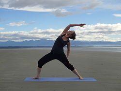 Surya Virabhadrasana - Sun Warrior Yoga Posture