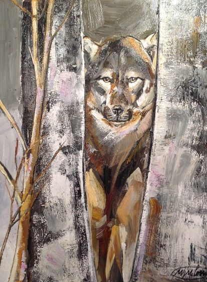 #peinture Marta Milossis