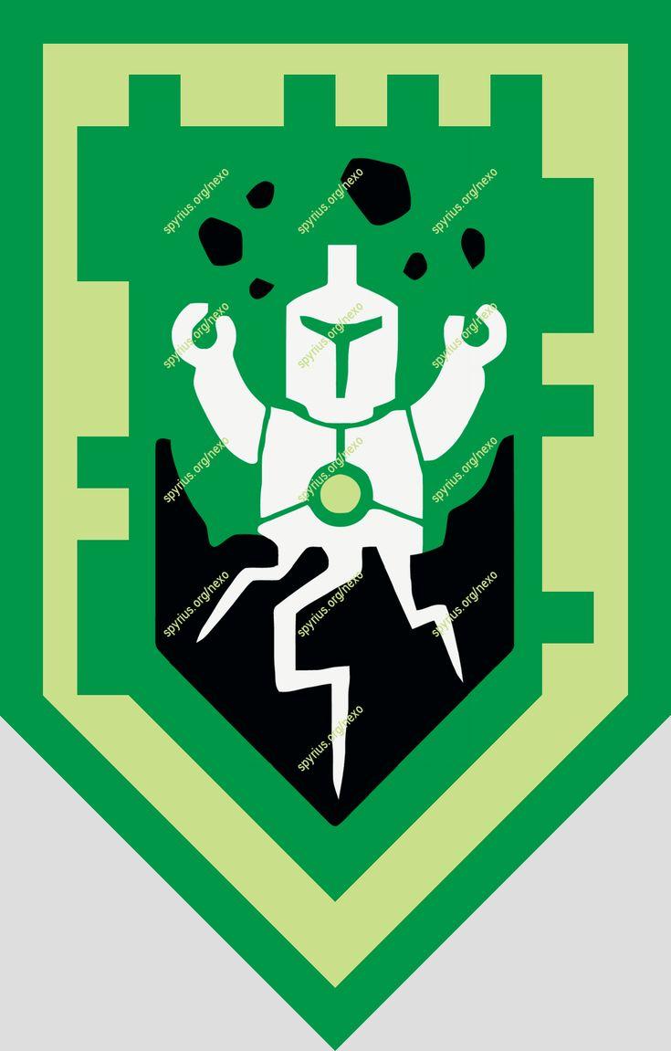 LEGO NEXO Knights Power - Aaron - Depth Charge  spyrius.org