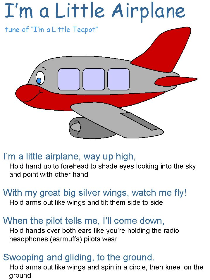 An airplane song