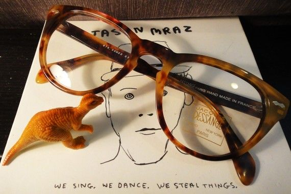 #Vintage Jacques Dessange Slight Cat Eye #Eyeglasses $78