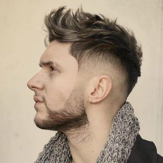 Image result for Modern Faux Hawk MEN