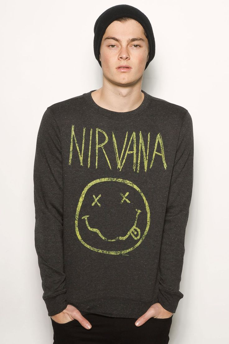 'Nirvana' Fleece Crew Sweater $29.99