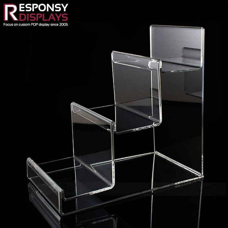 Counter Ladder-Shaped Acrylic Display Stand  Multifunction Display