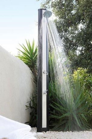 douche solaire solaris de luxe de leroy merlin