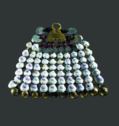 Fibula with pendant. Mordovians-Moksha. 19th century