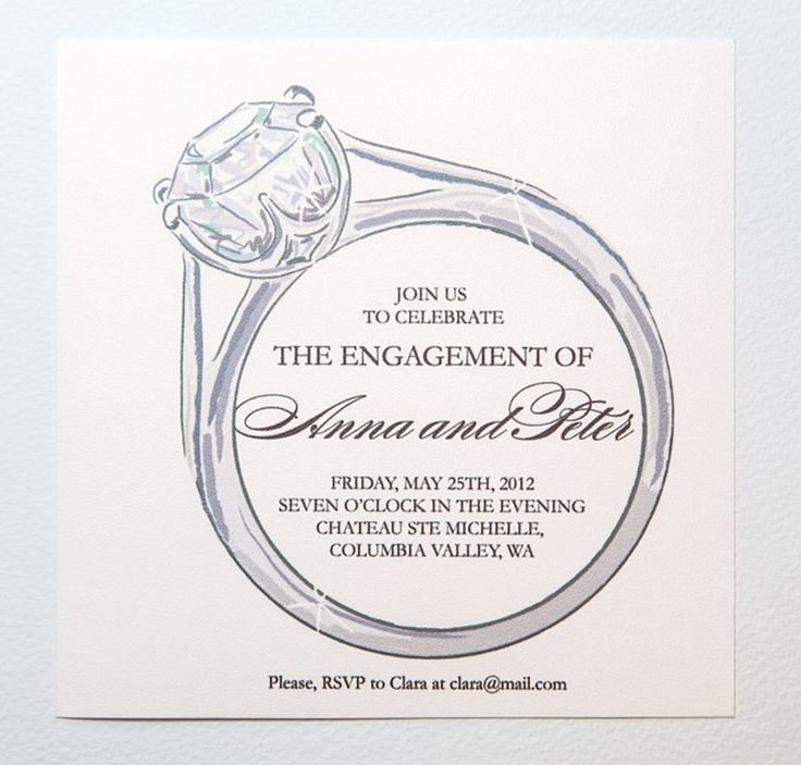 27 best Engagement Party Invitations images on Pinterest - free engagement party invites