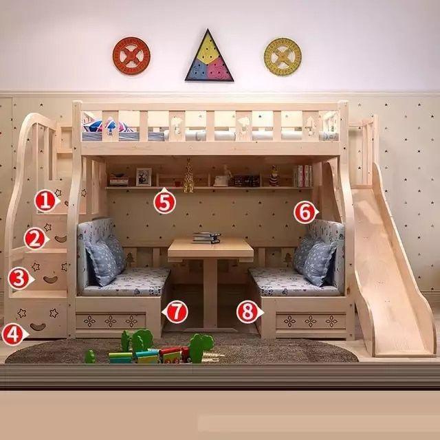 Letti A Castello Di Violetta.Singolo Yatak Odasi Quarto Camera Dormitorio Bambini Recamaras