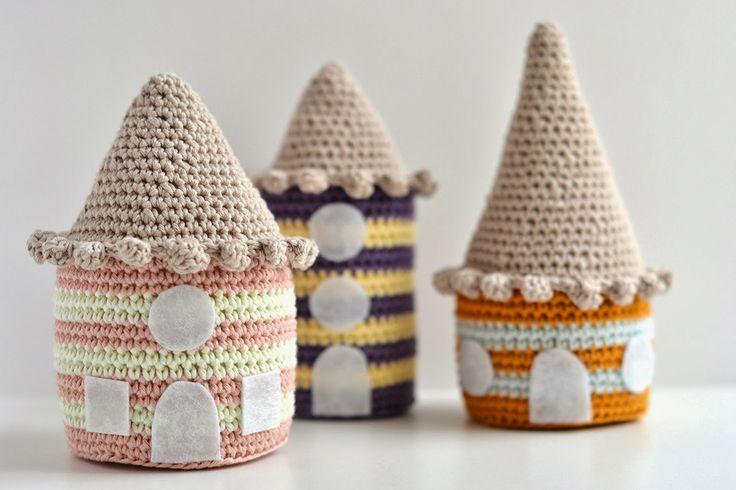 25 best crochet house ideas on pinterest - Casitas del bosque ...