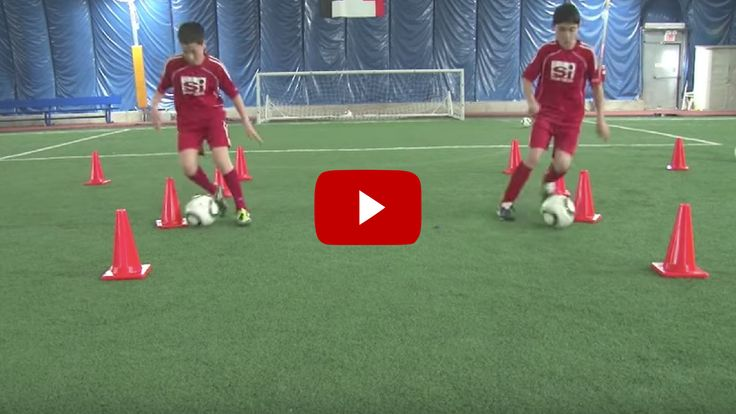 Football 1v1 and Finishing Drill. The best soccer/football videos, drills and articles on the web for soccer/football coaches.
